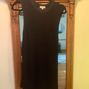 Aritzia knit long dress tank